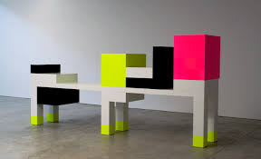 memphis furniture design. Ettore Sottsass: Un Piccolo Omaggio A Mondrian | Design Wallpaper* Magazine Retro 80\u0027s Memphis Furniture