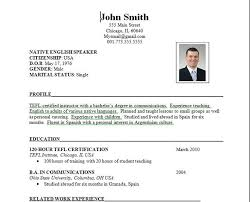 Latest Resume Format Sample 26 Types And Examples Primary