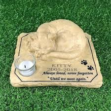 personalized cat memorial stones pet