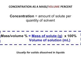 Concentration Of Solutions 20 Concentration Of Solutions