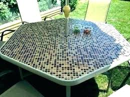 glass outdoor table setting top kmart round replacement patio unique for tempered decorating astounding replacemen