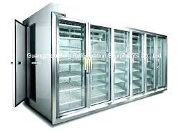 glass door front refrigerator residential large size of walk in cooler freezer berg refrigeration commercial