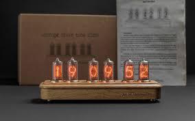 Ламповые часы на газоразрядных индикаторах <b>Восток</b>-3 Дуб ...