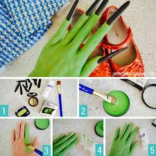 how to apply green makeup wicked witch of the west makeup tutorial elphaba witch halloween costume