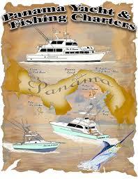 Yacht T Shirt Designs Panama Yacht And Fishing Charters Poster T Shirt Design