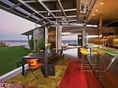 glass garage doors kitchen. Brad \u0026 Angelina\u0027s Kitchen Glass Garage Doors A
