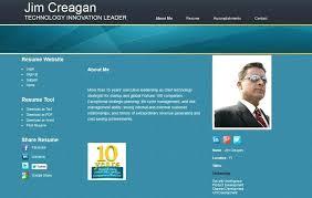 Online Resume Website Examples Best Cv Websites Templates Memberpro