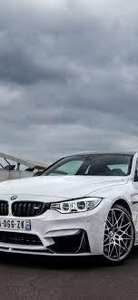 1125x2436 wallpaper bmw m4, white car ...