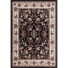 well woven miami black area rug 3 3 x 5 3