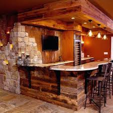 Basement Bar Ideas Rustic Rustic Basement Bar Basement Bar Ideas