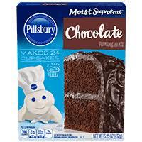 Cake Mixes Pillsbury Baking