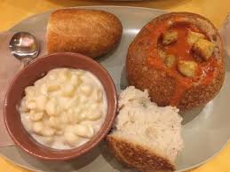panera bread bowl to go. Simple Bread Panera Bread Creamy Tomato Soup In Bread Bowl With Mac N Cheese Throughout To Go R