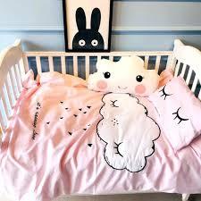 cloud crib bedding winter new baby crib bedding set cloud embroidery eyelash pattern crib sheet mattress cloud crib bedding