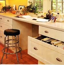 kitchen office desk. ^When Designing Your Kitchen Office/desk Area, One Decision You Need To Make Is Whether Want It Desk High Or Bar Stool High. Office