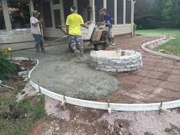 Image Backyard Stamped Concrete Patio Mason Ohio Stamped Concrete Cincinnati Ohio Walkers Concrete Walkers Concrete Llc stamped Concrete Patio Stamped Concrete Or