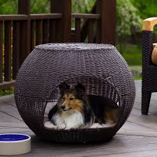 featuring coolaroo s distinctive breathable knitted fabric and an elevated bed design your dog can lounge outside up off of the ground and enjoy maximum