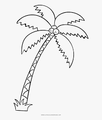 50+ Coloring Pages Of Palm Trees Images