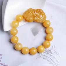 2019 <b>TJP</b> Natural China HUANGLONG Jade PIXIU Bracelets Zao ...