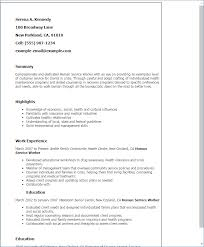 Social Services Resume Template Social Worker Resume Template