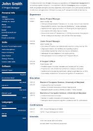 best cv template 20 resume templates download create your resume in 5 minutes