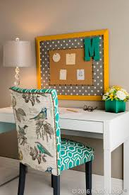 Trade an ultra-traditional look for upbeat-chic decor with upholstery nails  and tacks