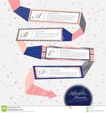 Creative Flow Chart Infographics Design Illustration