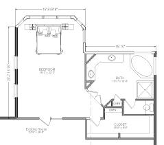 master bedroom floor plans. blueprint view of master bedroom addition suite floor plans r