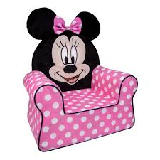 kids room disney pink color chair for girls room disney minnie mouse comfy chair pink