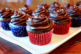 chocolate cupcakes with chocolate icing. Perfect Chocolate Intended Chocolate Cupcakes With Icing