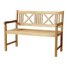 Rosenborg <b>bench</b> - <b>2-seater</b>, teak