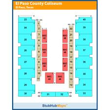 El Paso Coliseum Seating Chart El Paso County Coliseum Events And Concerts In El Paso El