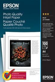 <b>Photo Quality</b> Ink Jet Paper - <b>Epson</b>