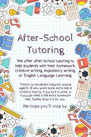 Tutor Flyer Templates School Tutoring Advertisement Flyer Template Postermywall