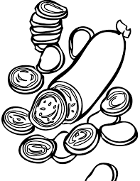 Small Picture Pepperoni Coloring Page Handipoints