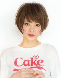 小顔効果ひし形ショートヘア ヘアカタログ2019 Hair ヘア