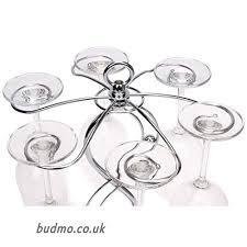 soriace stainless steel wine glass hanger elegant glass drying rack wine glasses rack stemware holder