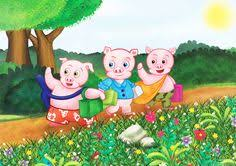 a clic three little pigs children s book ilration by