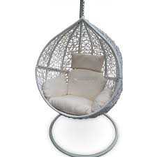 outdoor hanging furniture. Outdoor Hanging Ball Chair - White Furniture