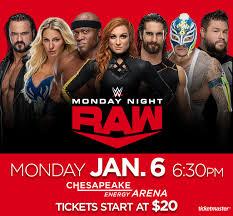 Wwe Monday Night Raw Chesapeake Energy Arena
