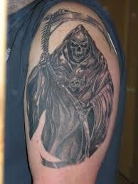 194 Powerful Grim Reaper Tattoos Creativefan