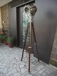 vintage tripod floor lamp