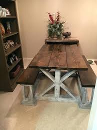 kitchen tables with benches kitchen table bench farmhouse with picnic tables kitchen table benches wood