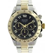 accurist watch silver chronograph mb981b cheapest accurist accurist silver gold gents chronograph watch mb981b