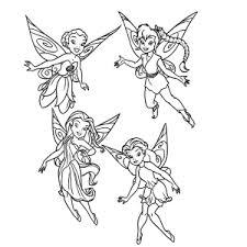 Tinkerbell Kleurplaten Leuk Voor Kids
