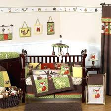 animal crib bedding full size of nursery crib bedding boy plus forest friends quilt as well