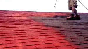 can you paint roof shingles painted asphalt shingles painted shingles can roof shingles be painted 6