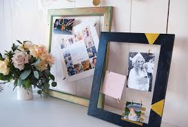 picture frames can dress up a room no matter what the occasion if you have any vintage or old frames that need some sprucing up we ll show you the perfect
