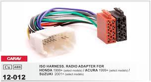 high quality suzuki wiring harness buy cheap suzuki wiring harness carav 12 012 iso radio plug for honda acura suzuki wire cable stereo