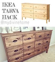 ikea tarva dresser hack. Ikea Tarva 6 Drawer Dresser Chest Design: Captivating Hack A