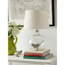 creative e27 base globe glass shade bedside touch lamps